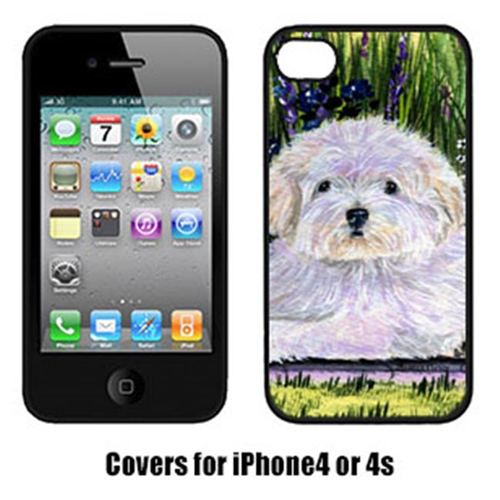 Carolines Treasures SS8430IP4 Coton De Tulear Cell Phone Cover For Iphone 4