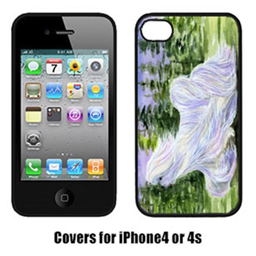 Carolines Treasures SS8453IP4 Maltese Cell Phone Cover Iphone 4
