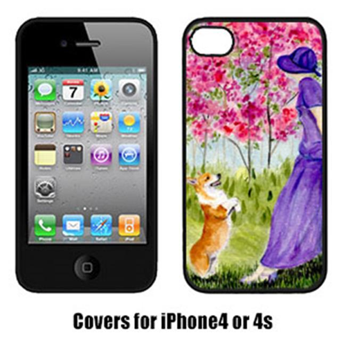 Carolines Treasures SS8616IP4 Corgi Cell Phone Cover Iphone 4