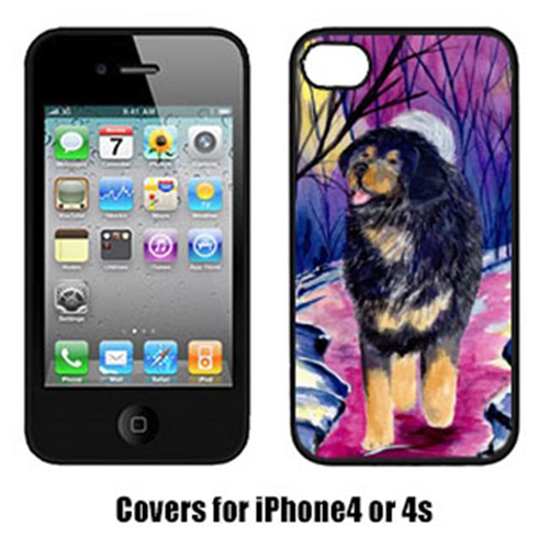 Carolines Treasures SS1021IP4 Tibetan Mastiff Iphone 4 Cover