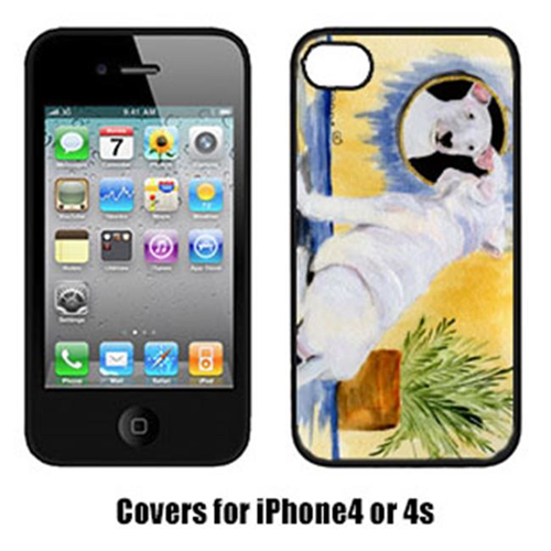 Carolines Treasures SS8135IP4 Bull Terrier Cell Phone cover IPhone 4