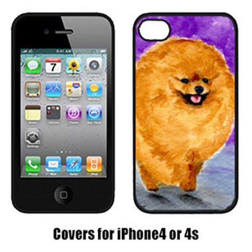 Carolines Treasures SS8681IP4 Pomeranian Iphone4 Cover