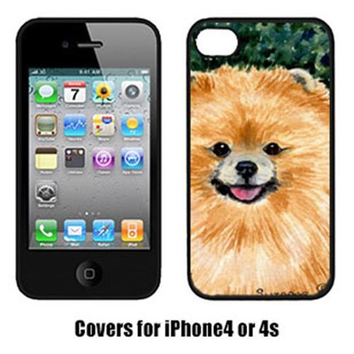 Carolines Treasures SS8725IP4 Pomeranian Iphone4 Cover