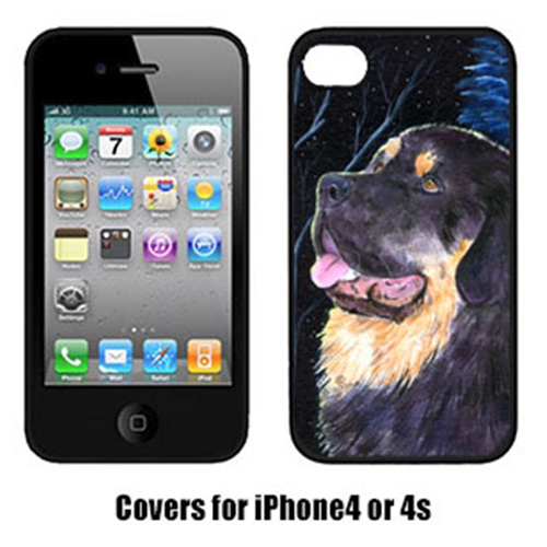 Carolines Treasures SS8552IP4 Starry Night Tibetan Mastiff Iphone4 Cover