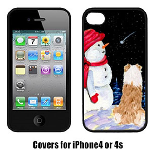 Carolines Treasures SS8573IP4 Australian Shepherd Iphone4 Cover