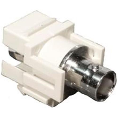 Morris Products 88214 Bnc Modular Inserts White