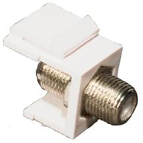 Morris Products 88218 F Catv Modular Inserts White