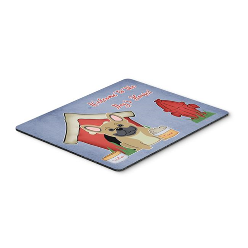 Carolines Treasures BB2764MP Dog House Collection French Bulldog Cream Mouse Pad Hot Pad or Trivet