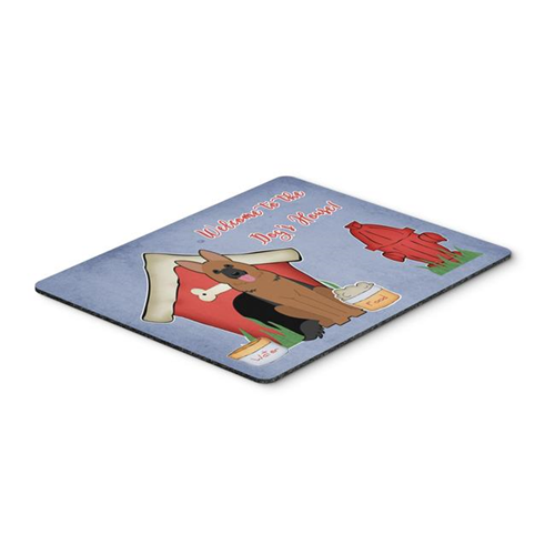 Carolines Treasures BB2821MP Dog House Collection German Shepherd Mouse Pad Hot Pad or Trivet