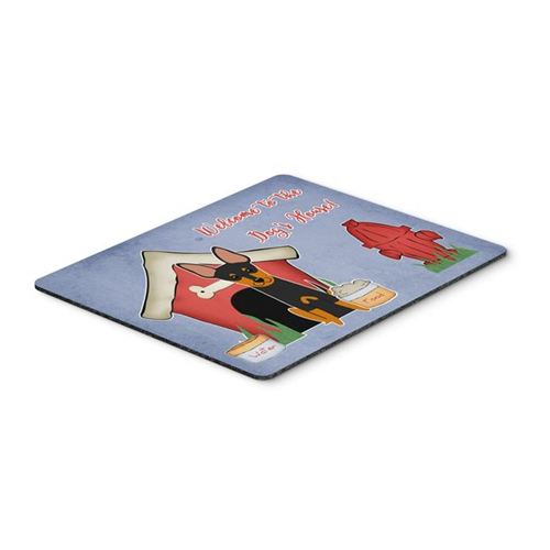 Carolines Treasures BB2863MP Dog House Collection English Toy Terrier Mouse Pad Hot Pad or Trivet