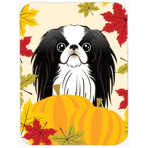 Carolines Treasures BB2036MP Japanese Chin Thanksgiving Mouse Pad Hot Pad or Trivet