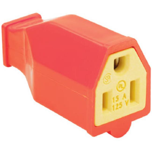 Pass & Seymour SA993OCC10 Connector 15A 125V Orange