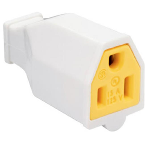 Pass & Seymour SA993WCC10 Connector 15A 125V White