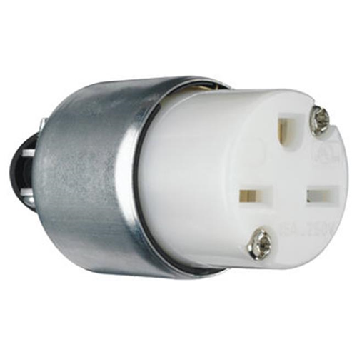 Pass & Seymour PS615CACC20 15A White Armored Connector
