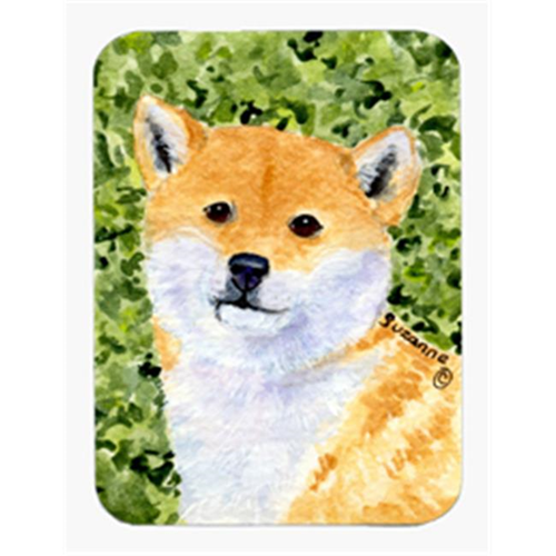 Carolines Treasures SS8719MP Shiba Inu Mouse Pad & Hot Pad Or Trivet