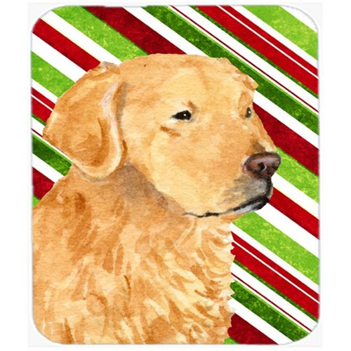 Carolines Treasures SS4545MP Golden Retriever Candy Cane Holiday Christmas Mouse Pad Hot Pad Or Trivet