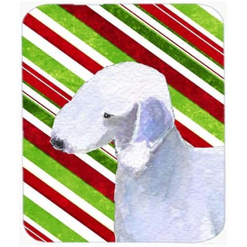 Carolines Treasures SS4552MP Bedlington Terrier Candy Cane Holiday Christmas Mouse Pad Hot Pad Or Trivet