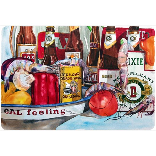 Carolines Treasures 1010MP 9.25 x 7.75 in. Verons and New Orleans Beers Mouse Pad Hot Pad Or Trivet