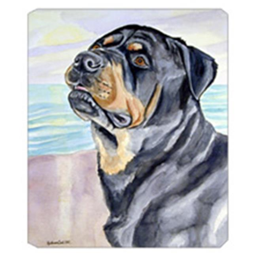 Carolines Treasures 7107MP 8 x 9.5 in. Rottweiler Mouse Pad Hot Pad Or Trivet