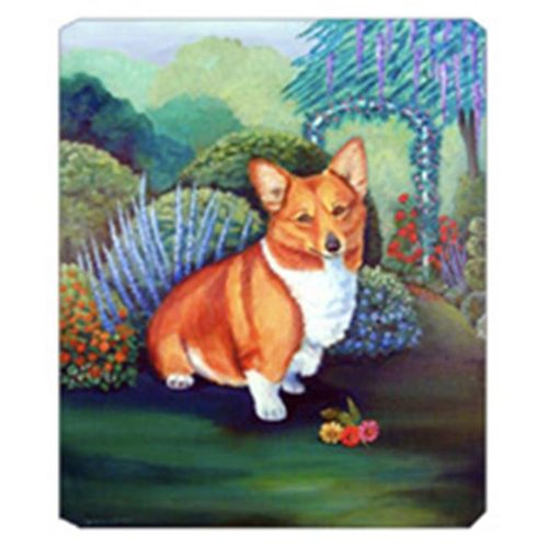 Carolines Treasures 7118MP 8 x 9.5 in. Pembroke Corgi Mouse Pad Hot Pad Or Trivet