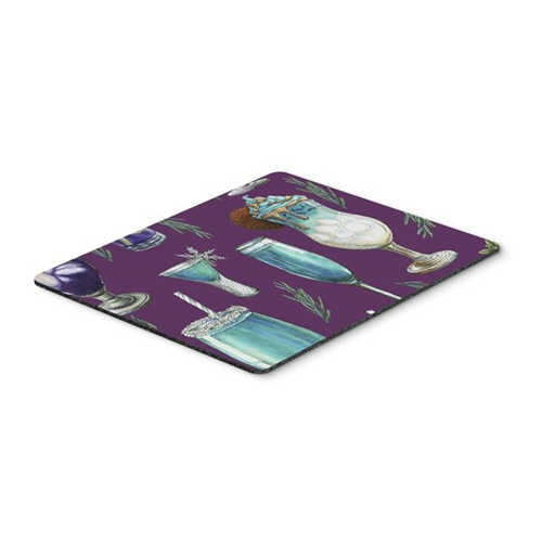 Carolines Treasures BB5204MP Drinks & Cocktails Purple Mouse Pad Hot Pad or Trivet