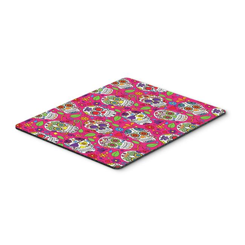Carolines Treasures BB5115MP Day of the Dead Pink Mouse Pad Hot Pad or Trivet