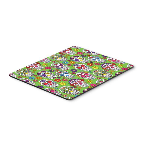 Carolines Treasures BB5117MP Day of the Dead Green Mouse Pad Hot Pad or Trivet