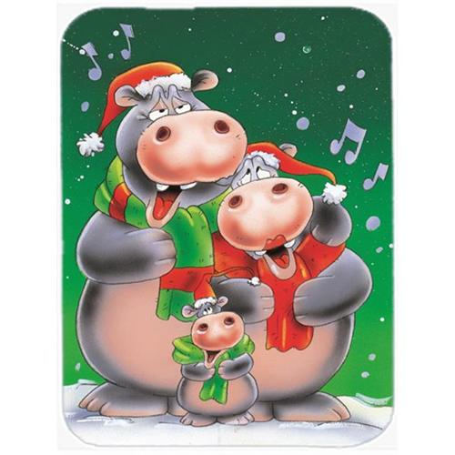 Carolines Treasures AAH7195MP Hippo Family Caroling Mouse Pad Hot Pad or Trivet