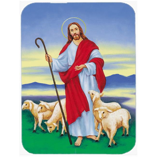 Carolines Treasures AAH6876MP Jesus the Good Shepherd Mouse Pad Hot Pad or Trivet