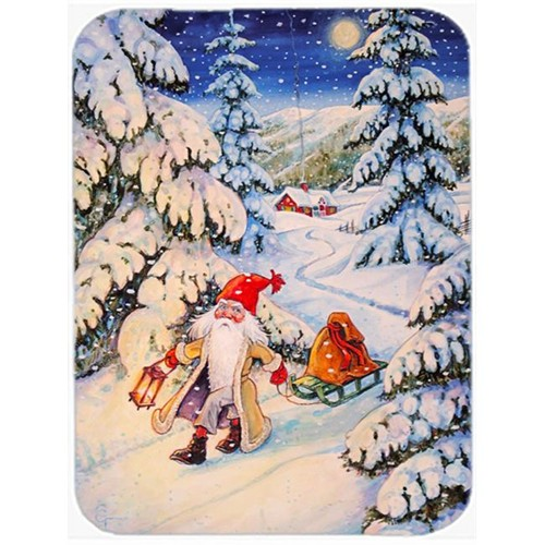 Carolines Treasures ACG0144MP Christmas Gnome Pulling a Sled Mouse Pad Hot Pad or Trivet