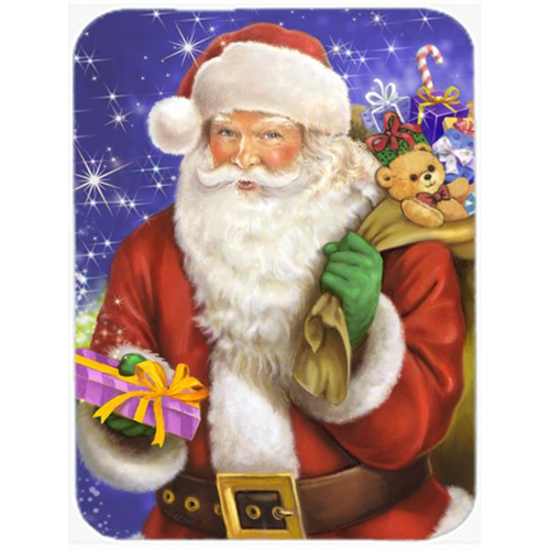 Carolines Treasures APH7595MP Christmas Santa Claus Ready to Work Mouse Pad Hot Pad or Trivet