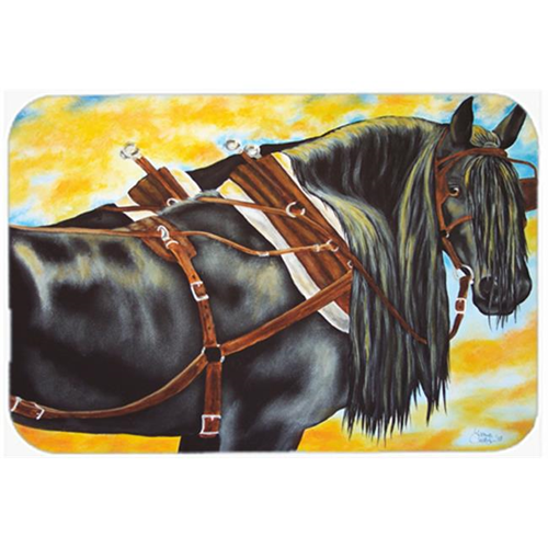 Carolines Treasures AMB1238MP Days End Horse Mouse Pad Hot Pad or Trivet