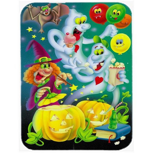 Carolines Treasures APH0932MP Witch Party with the Ghosts Halloween Mouse Pad Hot Pad or Trivet