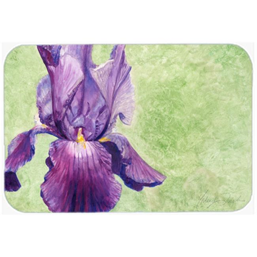 Carolines Treasures TMTR0234MP Purple Iris by Malenda Trick Mouse Pad Hot Pad or Trivet