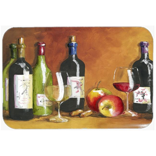 Carolines Treasures TMTR300AMP Wine by Malenda Trick Mouse Pad Hot Pad or Trivet