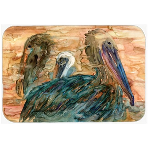 Carolines Treasures 8977MP Abstract Pelicans Mouse Pad Hot Pad or Trivet