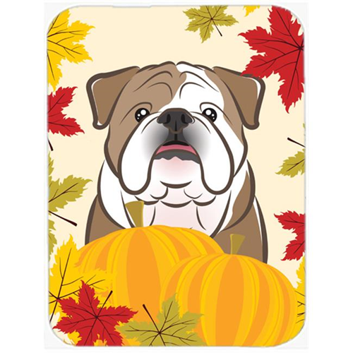 Carolines Treasures BB2025MP English Bulldog Thanksgiving Mouse Pad Hot Pad or Trivet