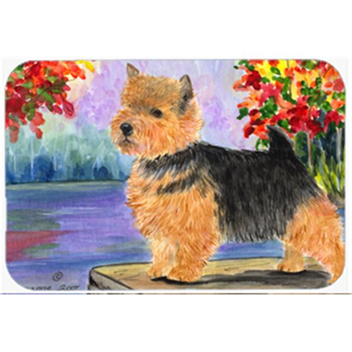 Carolines Treasures SS8054MP 8 x 9.5 in. Norwich Terrier Mouse Pad Hot Pad or Trivet