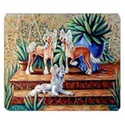 Carolines Treasures 7505MP 8 x 9.5 in. Chinese Crested Mouse Pad Hot Pad or Trivet