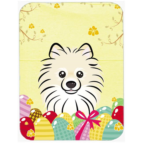 Carolines Treasures BB1889MP Pomeranian Easter Egg Hunt Mouse Pad Hot Pad or Trivet