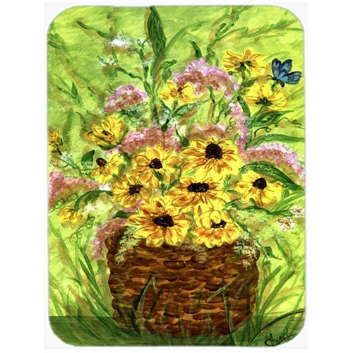 Carolines Treasures CN5262MP Yellow Daisies Mouse Pad Hot Pad Or Trivet