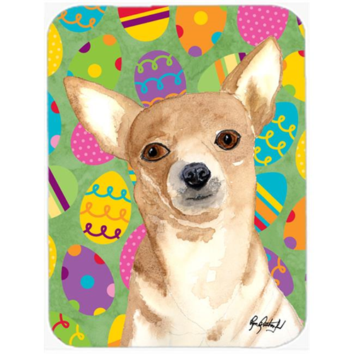 Carolines Treasures RDR3017MP 7.75 x 9.25 In. Eggravaganza Chihuahua Easter Mouse Pad Hot Pad or Trivet