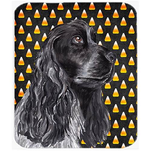 Carolines Treasures SC9526MP 7.75 x 9.25 In. Cocker Spaniel Halloween Candy Corn Mouse Pad Hot Pad or Trivet