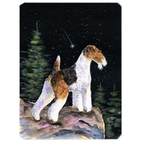Carolines Treasures SS8500MP Starry Night Fox Terrier Mouse Pad