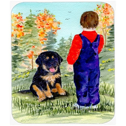 Carolines Treasures SS8548MP Tibetan Mastiff Mouse Pad Hot Pad Or Trivet
