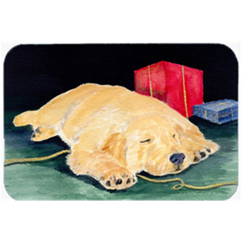 Carolines Treasures SS8576MP Golden Retriever Mouse Pad & Hot Pad Or Trivet