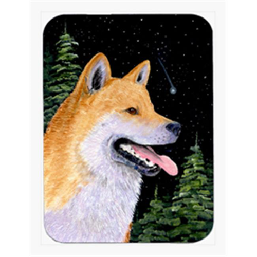 Carolines Treasures SS8598MP Shiba Inu Mouse Pad & Hot Pad Or Trivet