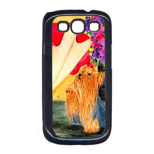 Carolines Treasures SS8522GALAXYSIII Lady With Her Yorkie Galaxy S111 Cell Phone Cover