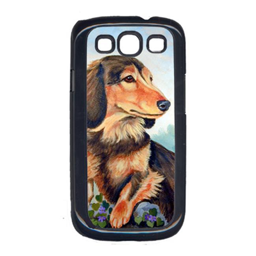 Carolines Treasures 7023GALAXYSIII Dachshund Chocolate And Tan Long Haired Galaxy S111 Cell Phone Cover