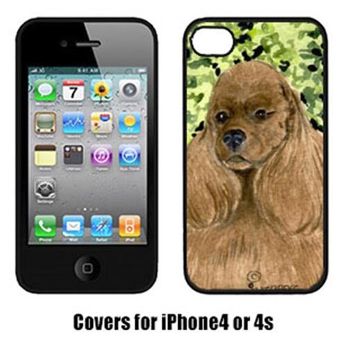 Carolines Treasures SS8809IP4 Cocker Spaniel Iphone4 Cover